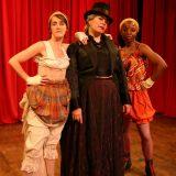 Madame Killer pictured: Aedin Moloney, Maria Porter, Marsha Stephanie Blake; photo by Carl Skutsch