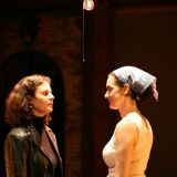 I Have Loved Strangers pictured: Laura Flanagan, Jennifer R. Morris; photo by Carl Skutsch