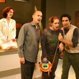 What Then pictured: Meg MacCary, Andrew Dolan,Merritt Wever, Piter Marek; photo by: Carl Skutsch