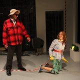 Roadkill Confidential pictured: Danny Mastrogiorgio, Polly Lee; photo by: Carl Skutsch