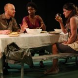 Civilization (All You Can Eat) pictured: Jeff Biehl, Melle Powers, Elizabeth Rich; photo by: Carl Skutsch