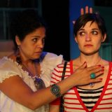 Enfrascada pictured: Annie Henck, Flora Diaz; photo by: Carl Skutsch