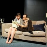 Luther pictured Kelly Mares and Gibson Frazier; photo by Heather Phelps-Lipton