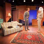 La Brea by Gregory S. Moss, directed by Adam Greenfield; featuring David Wilson Barnes and Rebecca Henderson; photo by Heather Phelps-Lipton