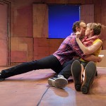 La Brea by Gregory S. Moss, directed by Adam Greenfield; featuring David Wilson Barnes and Crystal Finn; photo by Heather Phelps-Lipton