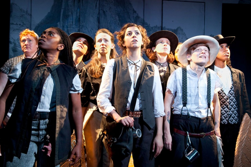Cast of MEN ON BOATS. Photo by Elke Young.