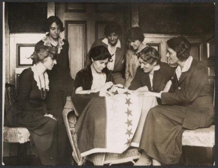 Alice Paul and Lucy Burns found The National Woman's Party