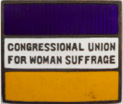 Alice Paul founds the Congressional Union (CU) for Women's Suffrage after butting heads with NAWSA over methods and goals