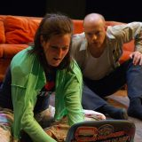 Greedy pictured: Meghan Love, Jeff Biehl; photo by: Zachary Veilleux