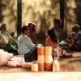 Slavey pictured: Paco Tolson, Jocelyn Kuritsky, Hasani Issa, Maria-Christina Oliveras, Gita Reddy, Spencer Scott Barros; photo by: Carl Skutsch