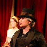 Madame Killer pictured: Aedin Moloney, Maria Porter; photo by Carl Skutsch