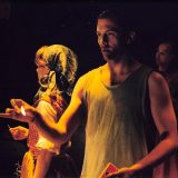 Freakshow pictured: Carla Harting, Shawn Fagan, Frank Dowd; photo by: Scott Adkins