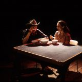 Late: a cowboy song pictured: Addie Johnson, Carla Harting; photo by: Andromache Chalfont