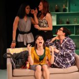 Enfrascada pictured: Jessica Pimentel, Flora Diaz, Anna Lamadrid, Christina Pumariega; photo by: Carl Skutsch