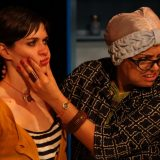 Enfrascada pictured: Flora Diaz, Annie Henk; photo by: Carl Skutsch