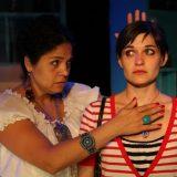 Enfrascada pictured: Annie Henck, Flora Diaz; photo by: Carl Skutsch