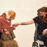 Laura Esterman and Connie Ray in CARD AND GIFT. Photo by Joseph Bensimon.