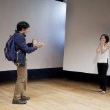 Nick Choksi and Stacey Yen in in D DEB DEBBIE DEBORAH. Photo by Elke Young.