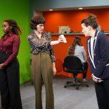 Nana Mensah, Keilly McQuail and Irene Sofia Lucio, photo by Elke Young